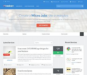 Taskerr WordPress Theme by AppThemes