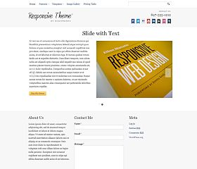 Responsive WordPress Theme by Bizz Themes