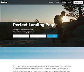Destino WordPress Theme by BizzThemes