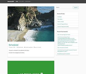 MaterialWP WordPress Theme by BootstrapWP