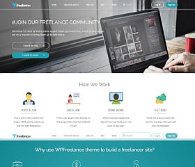 WPFreelance WordPress Theme by BoxThemes