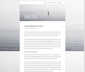 Endless Genesis Child Theme for WordPress by StudioPress