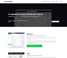 WordPress Question & Answer Themes