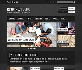 Resurrect WordPress Theme by ChurchThemes.com