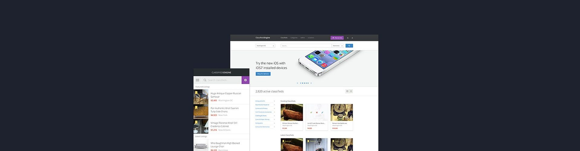 WordPress Classifieds Themes