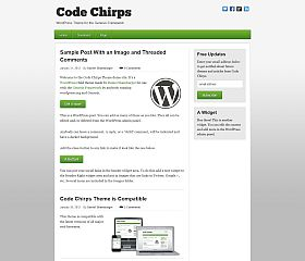 Code Chirps Genesis Child Theme for WordPress