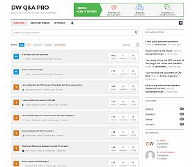 DQ Question & Answer Pro WordPress Plugin via CodeCanyon