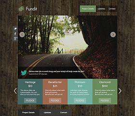 Fundit WordPress Theme via Creative Market