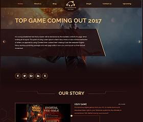Gamepro WordPress Theme via Creative Market