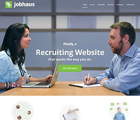 JobHaus WordPress Theme via Creative Market