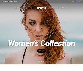 Amaryllis WordPress Theme by cssigniter