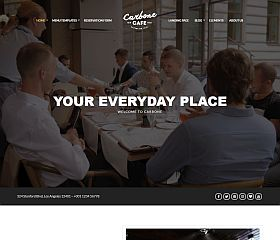 Carbone WordPress Theme by cssigniter