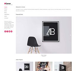 Corner WordPress Theme by cssigniter