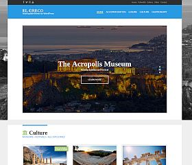 El Greco WordPress Theme by cssigniter