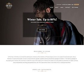 Hugo WordPress Theme by cssigniter