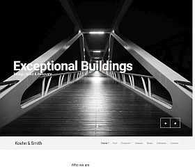Koehn WordPress Theme by cssigniter