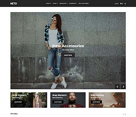 Neto WordPress Theme by cssigniter