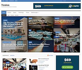 Neuton WordPress Theme by cssigniter