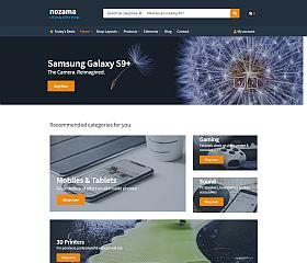 Nozama WordPress Theme by cssigniter