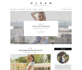 Olsen Light WordPress Theme by cssigniter