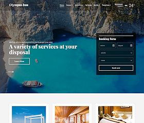 Olympus Inn WordPress Theme by cssigniter