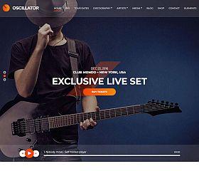 Oscillator WordPress Theme by cssigniter