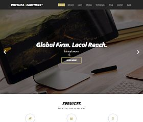 Potenza WordPress Theme by cssigniter