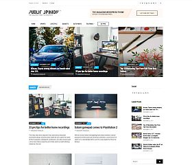Public Opinion Lite WordPress Theme by cssigniter