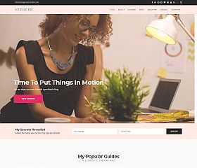 Spencer WordPress Theme by cssigniter