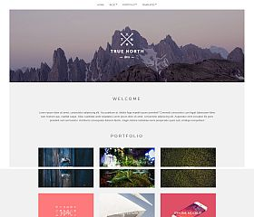 True North WordPress Theme by cssigniter