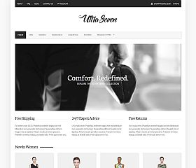 UltraSeven WordPress Theme by cssigniter