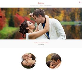 Wedding WordPress Theme by DesignOrbital