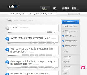 AskIt WordPress Theme by Elegant Themes