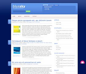 BlueSky WordPress Theme by Elegant Themes