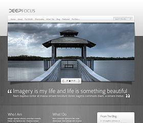 DeepFocus WordPress Theme by Elegant Themes