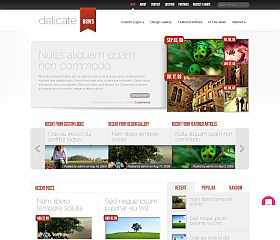 DelicateNews WordPress Theme by Elegant Themes