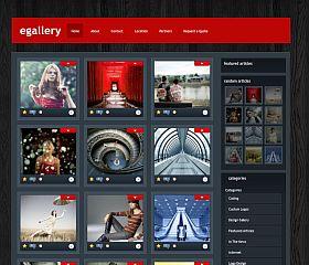 eGallery WordPress Theme by Elegant Themes
