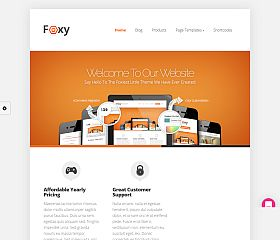 Foxy WordPress Theme by Elegant Themes