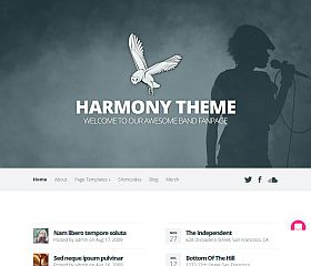 Harmony WordPress Theme by Elegant Themes
