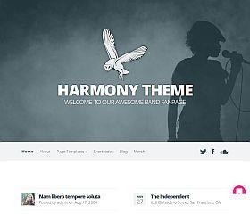 Harmony WordPress Theme by Elegant Themes