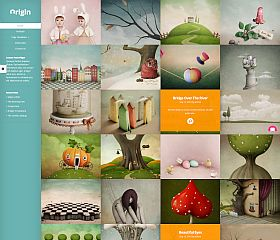 Origin WordPress Theme by Elegant Themes