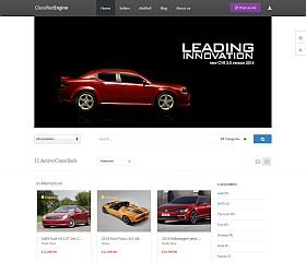 ClassifiedEngine WordPress Theme by EngineThemes