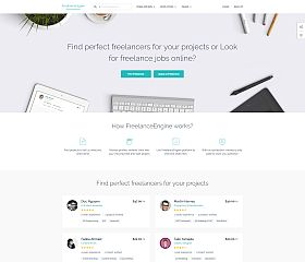 FreelanceEngine WordPress Theme by EngineThemes
