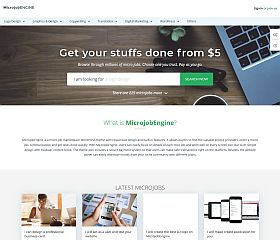MicrojobEngine WordPress Theme by EngineThemes