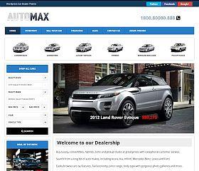 AutoMax Deluxe WordPress Theme by Gorilla Themes