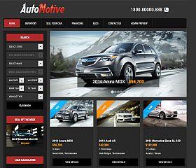 Automotive Deluxe WordPress Theme by Gorilla Themes