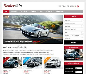 Dealership WordPress Theme by Gorilla Themes