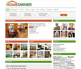 Homeowner WordPress Theme by Gorilla Themes
