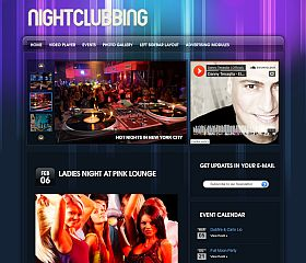 Nightclubbing WordPress Theme by Gorilla Themes