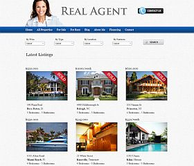 Real Agent WordPress Theme by Gorilla Themes